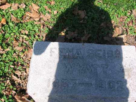 WYATT, FENA - Lucas County, Ohio | FENA WYATT - Ohio Gravestone Photos