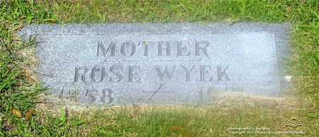 WYEK, ROSE - Lucas County, Ohio | ROSE WYEK - Ohio Gravestone Photos