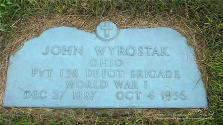 WYROSTAK, JOHN - Lucas County, Ohio | JOHN WYROSTAK - Ohio Gravestone Photos