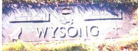 WYSONG, ELSIE M. - Lucas County, Ohio | ELSIE M. WYSONG - Ohio Gravestone Photos
