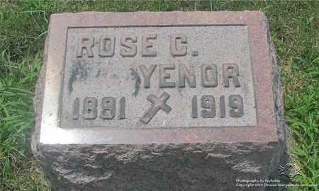 ERD YENOR, ROSE C. - Lucas County, Ohio | ROSE C. ERD YENOR - Ohio Gravestone Photos