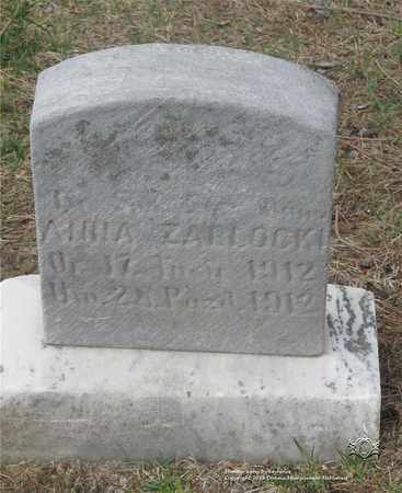 ZABLOWSKI, ANNA - Lucas County, Ohio   ANNA ZABLOWSKI - Ohio Gravestone Photos