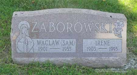 """ZABOROWSKI, WACLAW """"SAM"""" - Lucas County, Ohio   WACLAW """"SAM"""" ZABOROWSKI - Ohio Gravestone Photos"""