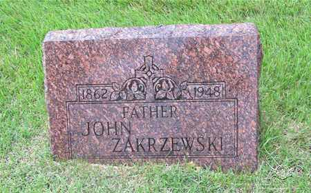 ZAKRZEWSKI, JOHN - Lucas County, Ohio | JOHN ZAKRZEWSKI - Ohio Gravestone Photos