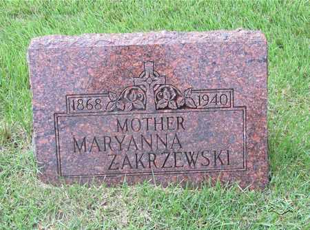 ZAKRZEWSKI, MARYANNA - Lucas County, Ohio | MARYANNA ZAKRZEWSKI - Ohio Gravestone Photos