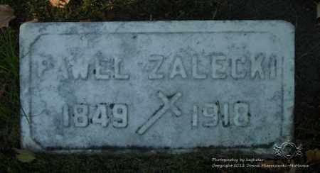 ZALECKI, PAWEL - Lucas County, Ohio   PAWEL ZALECKI - Ohio Gravestone Photos
