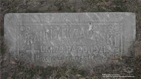 ZALESKI, FRANCISZEK - Lucas County, Ohio   FRANCISZEK ZALESKI - Ohio Gravestone Photos