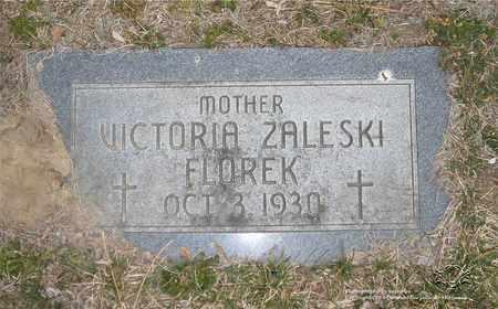 FLOREK, VICTORIA - Lucas County, Ohio | VICTORIA FLOREK - Ohio Gravestone Photos