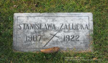 ZALUCKA, STANISLAWA - Lucas County, Ohio   STANISLAWA ZALUCKA - Ohio Gravestone Photos