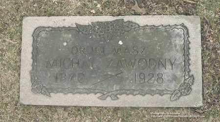 ZAWODNY, MICHAL - Lucas County, Ohio | MICHAL ZAWODNY - Ohio Gravestone Photos