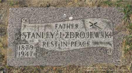 ZDROJEWSKI, STANLEY J. - Lucas County, Ohio   STANLEY J. ZDROJEWSKI - Ohio Gravestone Photos