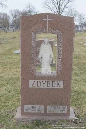 ZDYBEK, JOHN P. - Lucas County, Ohio   JOHN P. ZDYBEK - Ohio Gravestone Photos
