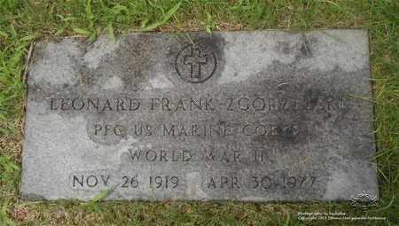 ZGORZELSKI, LEONARD FRANK - Lucas County, Ohio | LEONARD FRANK ZGORZELSKI - Ohio Gravestone Photos
