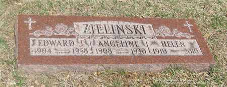 ZIELINSKI, ANGELINE - Lucas County, Ohio | ANGELINE ZIELINSKI - Ohio Gravestone Photos