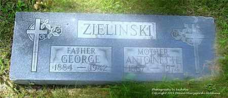ZIELINSKI, GEORGE - Lucas County, Ohio | GEORGE ZIELINSKI - Ohio Gravestone Photos