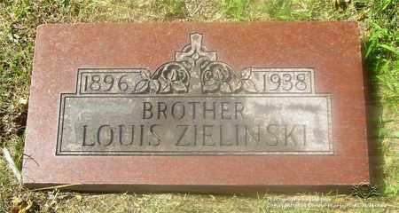 ZIELINSKI, LOUIS - Lucas County, Ohio | LOUIS ZIELINSKI - Ohio Gravestone Photos