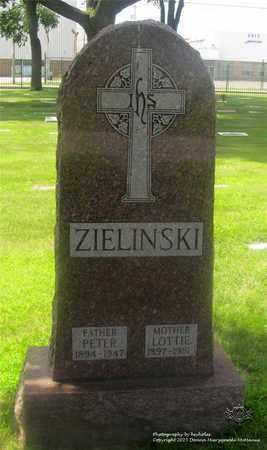 ZIELINSKI, PETER - Lucas County, Ohio | PETER ZIELINSKI - Ohio Gravestone Photos