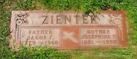ZIENTEK, JACOB F. - Lucas County, Ohio | JACOB F. ZIENTEK - Ohio Gravestone Photos