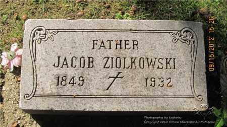 ZIOLKOWSKI, JACOB - Lucas County, Ohio | JACOB ZIOLKOWSKI - Ohio Gravestone Photos