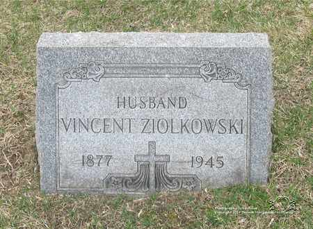 ZIOLKOWSKI, VINCENT - Lucas County, Ohio | VINCENT ZIOLKOWSKI - Ohio Gravestone Photos