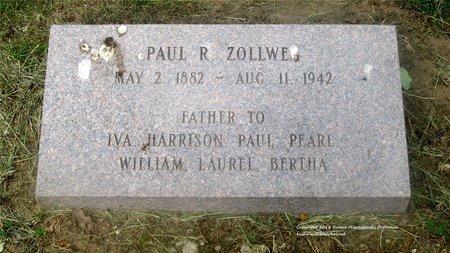 ZOLLWEG, PAUL R. - Lucas County, Ohio   PAUL R. ZOLLWEG - Ohio Gravestone Photos
