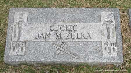 ZULKA, JAN M. - Lucas County, Ohio | JAN M. ZULKA - Ohio Gravestone Photos