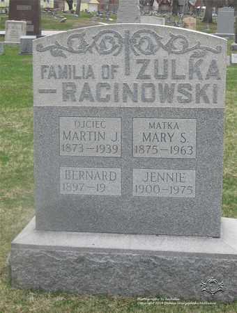 ZULKA, JENNIE - Lucas County, Ohio | JENNIE ZULKA - Ohio Gravestone Photos