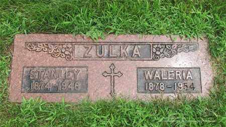 ZULKA, STANLEY - Lucas County, Ohio | STANLEY ZULKA - Ohio Gravestone Photos
