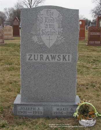 ZURAWSKI, JOSEPH J. - Lucas County, Ohio | JOSEPH J. ZURAWSKI - Ohio Gravestone Photos