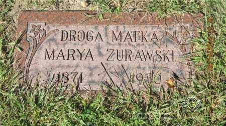 BUKOWIECKI ZURAWSKI, MARYA - Lucas County, Ohio | MARYA BUKOWIECKI ZURAWSKI - Ohio Gravestone Photos