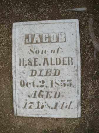 ALDER, JACOB - Madison County, Ohio | JACOB ALDER - Ohio Gravestone Photos