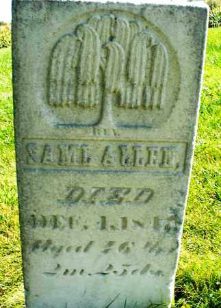ALLEN, SAMUEL - Madison County, Ohio   SAMUEL ALLEN - Ohio Gravestone Photos