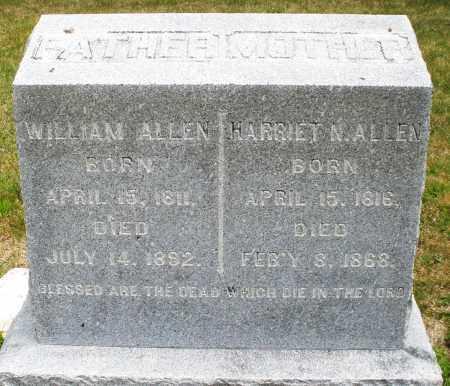 ALLEN, HARRIET N. - Madison County, Ohio | HARRIET N. ALLEN - Ohio Gravestone Photos