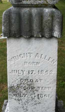 ALLEN, WRIGHT - Madison County, Ohio | WRIGHT ALLEN - Ohio Gravestone Photos
