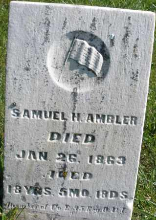 AMBLER, SAMUEL H. - Madison County, Ohio | SAMUEL H. AMBLER - Ohio Gravestone Photos