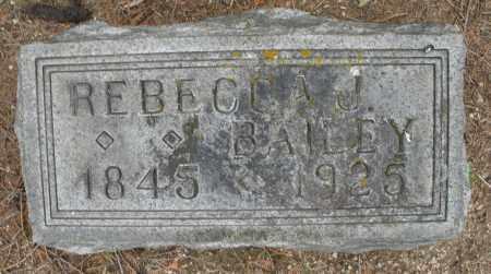 BAILEY, REBECCA J. - Madison County, Ohio | REBECCA J. BAILEY - Ohio Gravestone Photos
