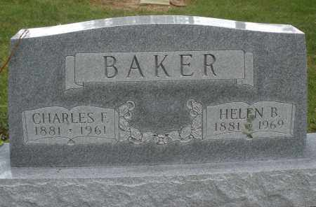 BAKER, CHARLES F. - Madison County, Ohio | CHARLES F. BAKER - Ohio Gravestone Photos