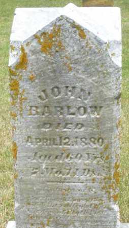 BARLOW, JOHN - Madison County, Ohio | JOHN BARLOW - Ohio Gravestone Photos