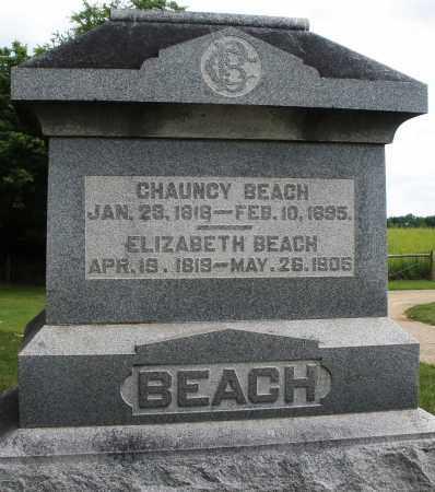 BEACH, CHAUNCY - Madison County, Ohio | CHAUNCY BEACH - Ohio Gravestone Photos
