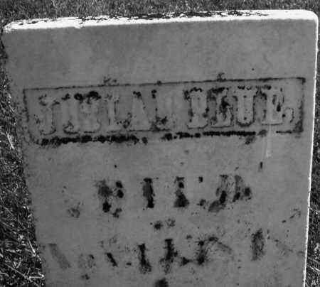 BLUE, JOSIAH - Madison County, Ohio | JOSIAH BLUE - Ohio Gravestone Photos