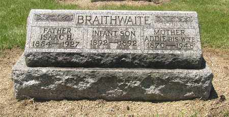 BRAITHWAITE, ISAAC - Madison County, Ohio | ISAAC BRAITHWAITE - Ohio Gravestone Photos