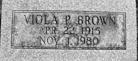 BROWN, VIOLA P. - Madison County, Ohio | VIOLA P. BROWN - Ohio Gravestone Photos