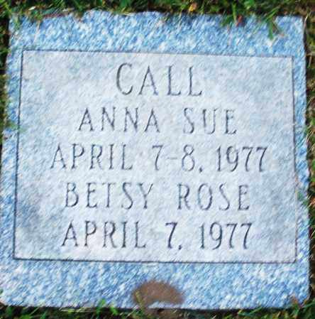 CALL, BETSY ROSE - Madison County, Ohio | BETSY ROSE CALL - Ohio Gravestone Photos