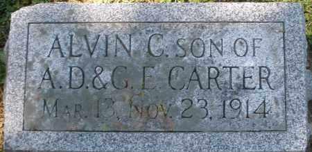 CARTER, ALVIN C. - Madison County, Ohio   ALVIN C. CARTER - Ohio Gravestone Photos