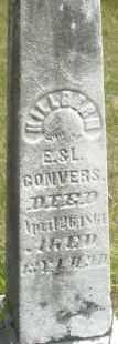 CONVERS, KILLBERN - Madison County, Ohio | KILLBERN CONVERS - Ohio Gravestone Photos