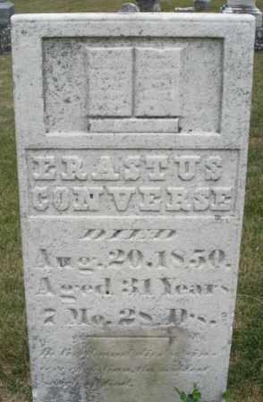 CONVERSE, ERASTUS - Madison County, Ohio | ERASTUS CONVERSE - Ohio Gravestone Photos