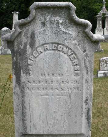 CONVERSE, JASPER R. - Madison County, Ohio | JASPER R. CONVERSE - Ohio Gravestone Photos