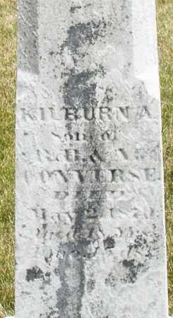 CONVERSE, KILBURN A. - Madison County, Ohio | KILBURN A. CONVERSE - Ohio Gravestone Photos