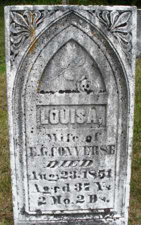 CONVERSE, LOUISA - Madison County, Ohio | LOUISA CONVERSE - Ohio Gravestone Photos