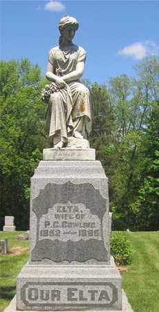 COWLING, ELTA - Madison County, Ohio | ELTA COWLING - Ohio Gravestone Photos